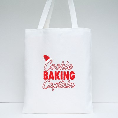 Cookie Baking Captain Tote Bags