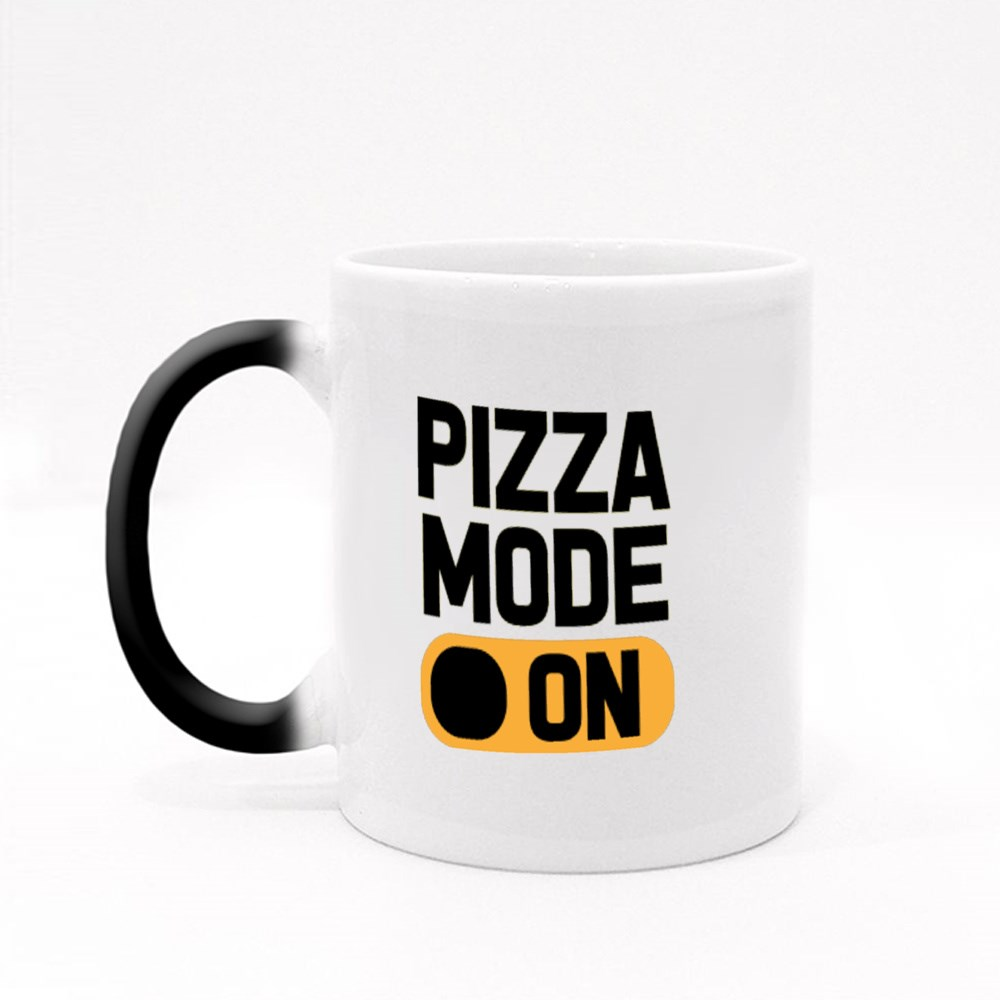 Pizza Lover Pizza Mode On Magic Mugs