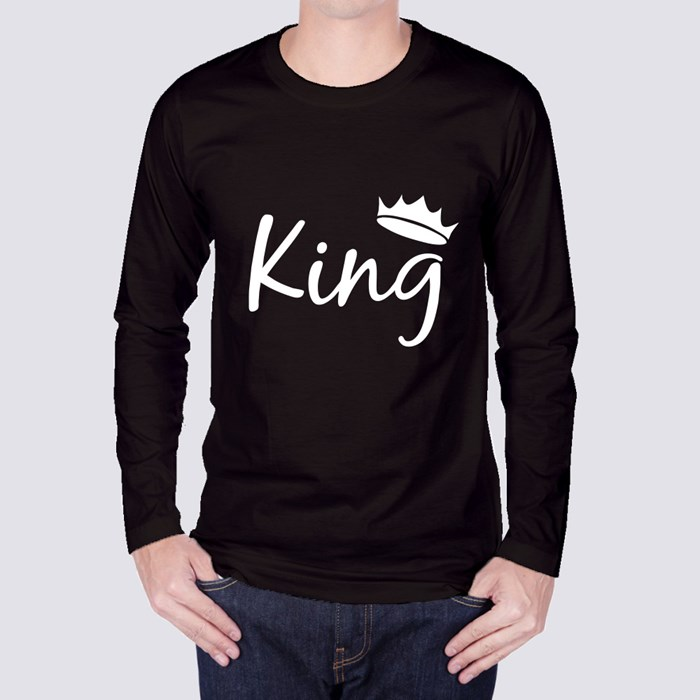 My King Forever Long Sleeve T-Shirts