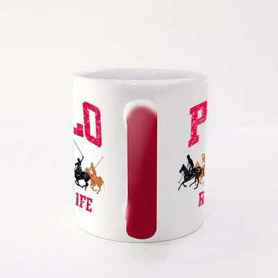 College Polo Player Magic Mugs