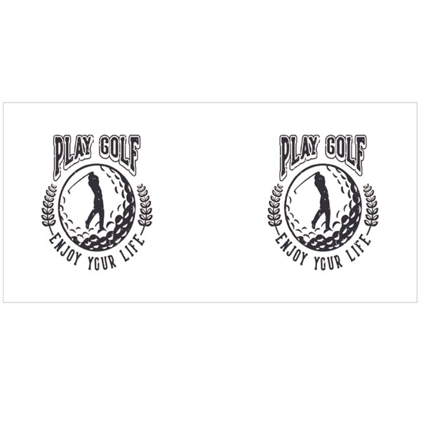 Play Golf Enjoy Your Life Colour Mugs