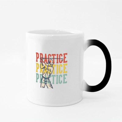 Practice for Golfers Magic Mugs