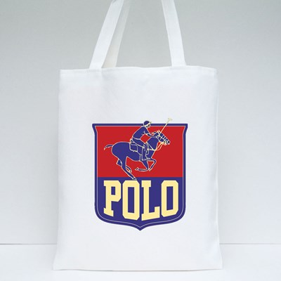Polo Sports Print Embroidery Tote Bags