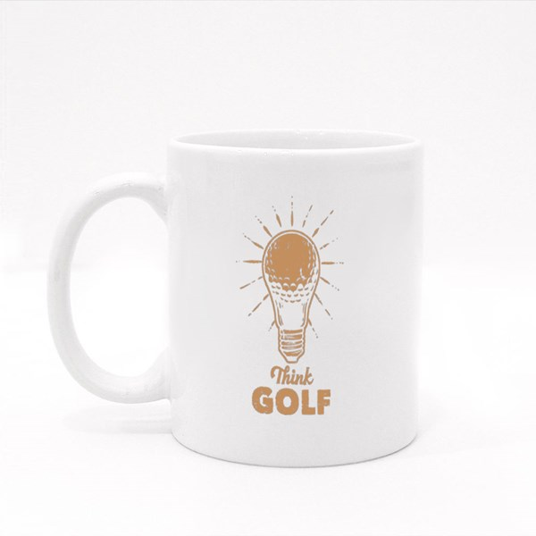 Get an Idea Thinking About Golf Colour Mugs