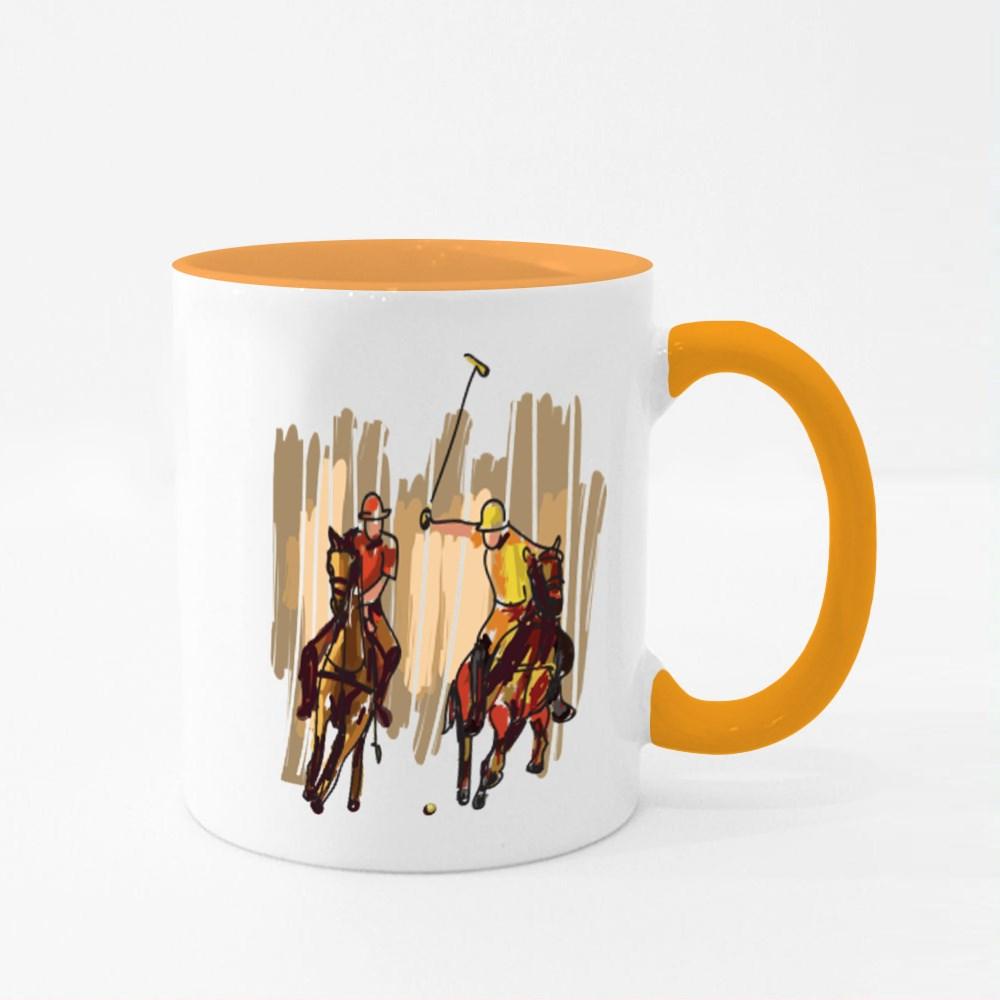 Polo Game Colour Mugs
