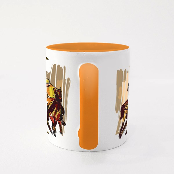 Polo Game Colour Mugs