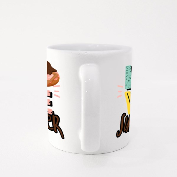 Love Summer Swimming Colour Mugs
