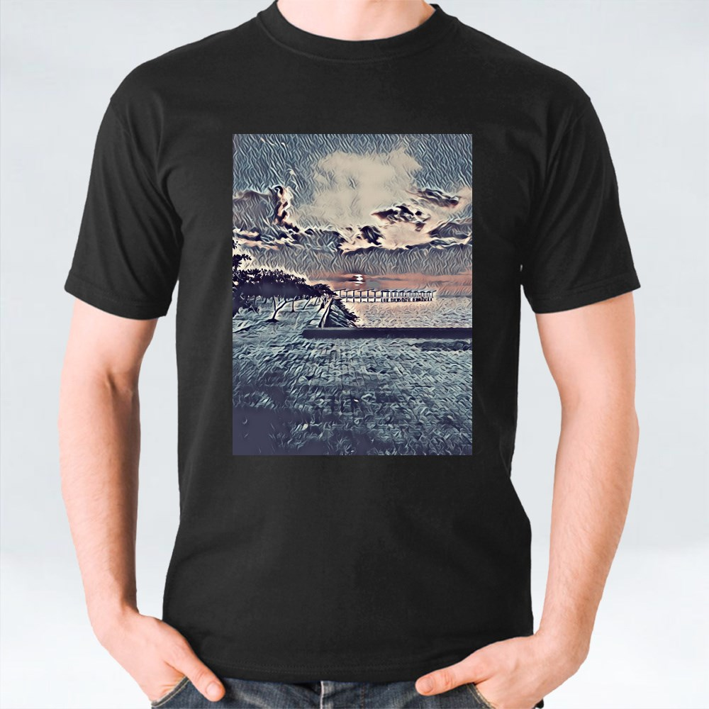 Sunset at the Beach T-Shirts