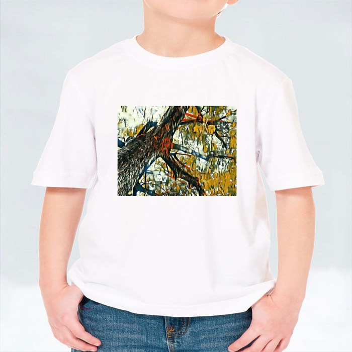 Looking up the Tree T-Shirts (Kid)