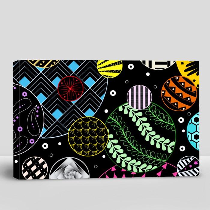 Zentangle 3A Canvas (Landscape)