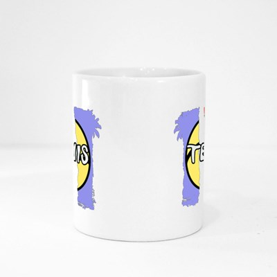 Let's Go and Play Tennis Magic Mugs