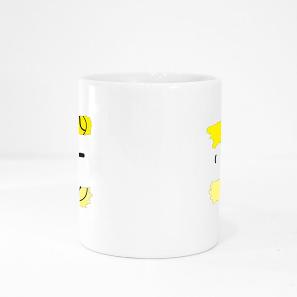 Let's Go and Play Tennis Colour Mugs