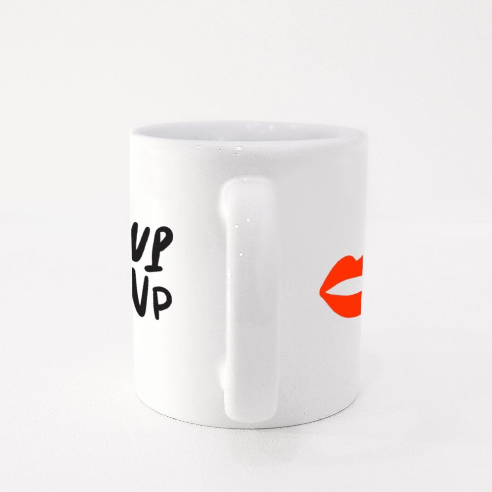 Wake up and Make Up Colour Mugs