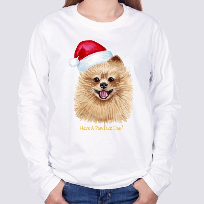 Pomeranian Long Sleeve T-Shirts