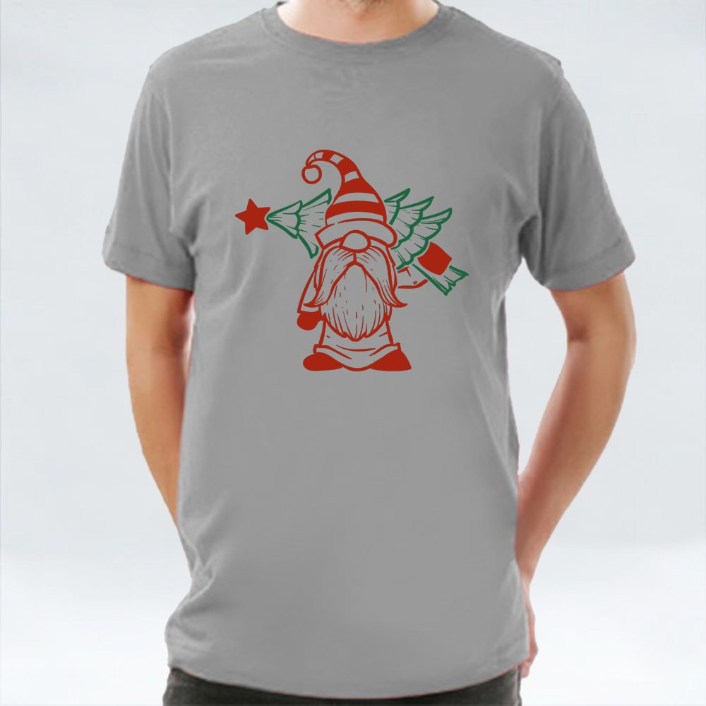 Gnome 20 Green and Red T-Shirts