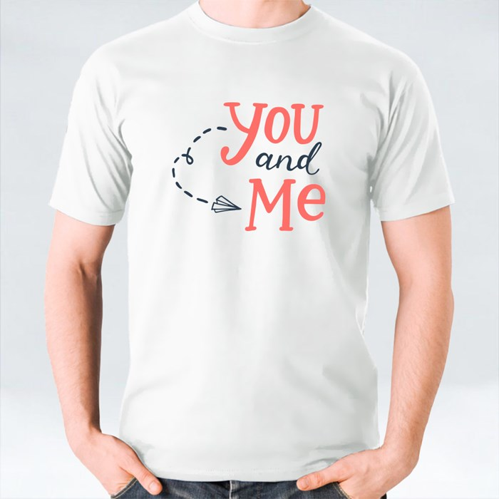 The Paper Plane of You and Me T-Shirts