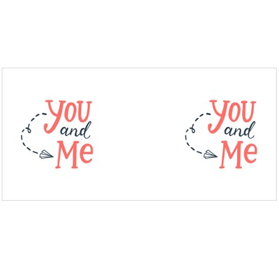 The Paper Plane of You and Me Magic Mugs