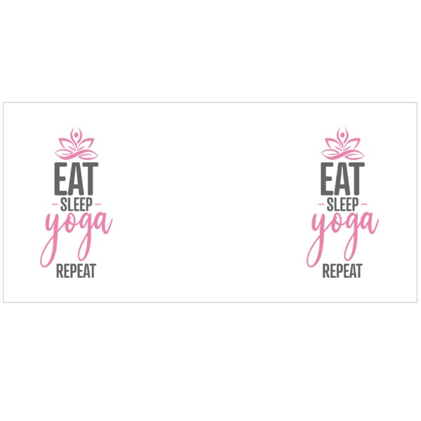 Eat Sleep Yoga Repeat Colour Mugs