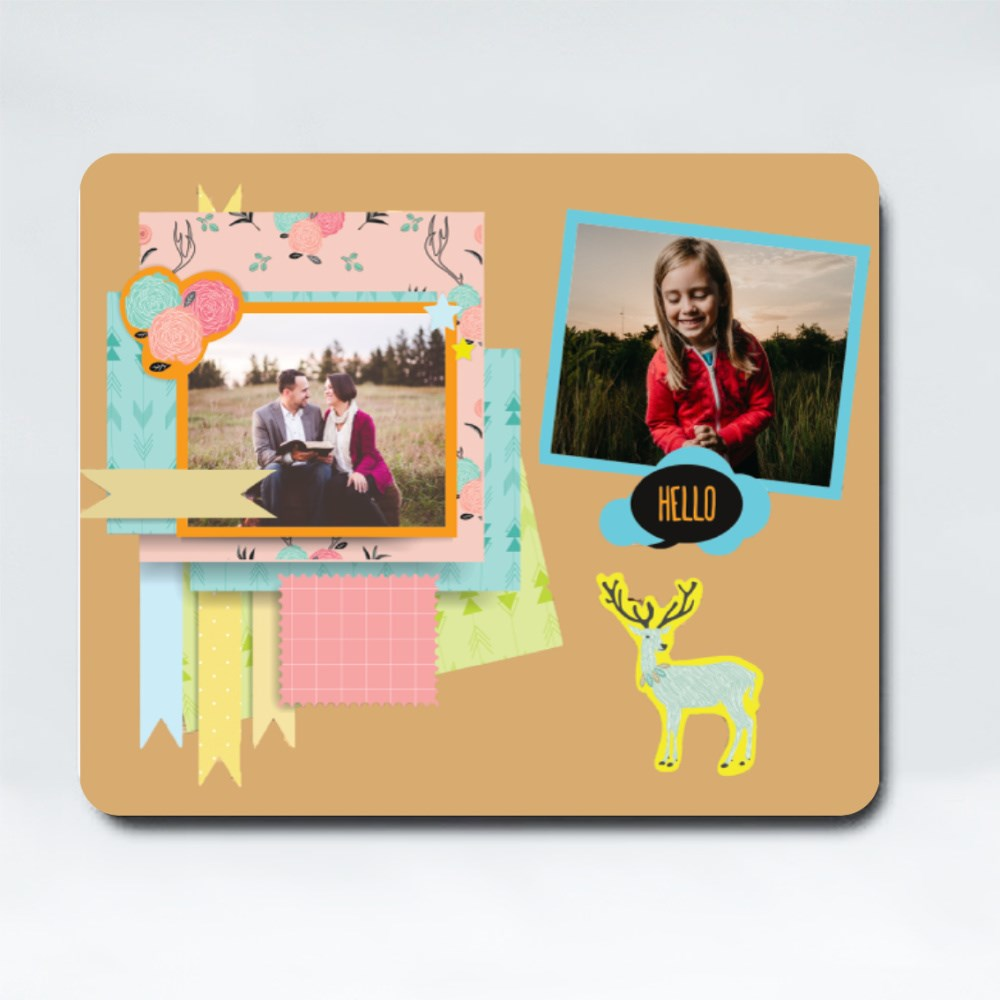 Mousepads > Mousepads (Rectangle) > Greeting Cards With Deer