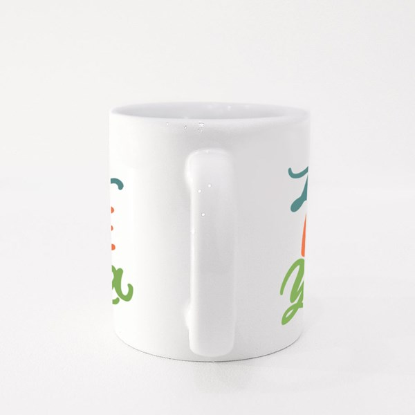 Live & Love Yoga Colour Mugs