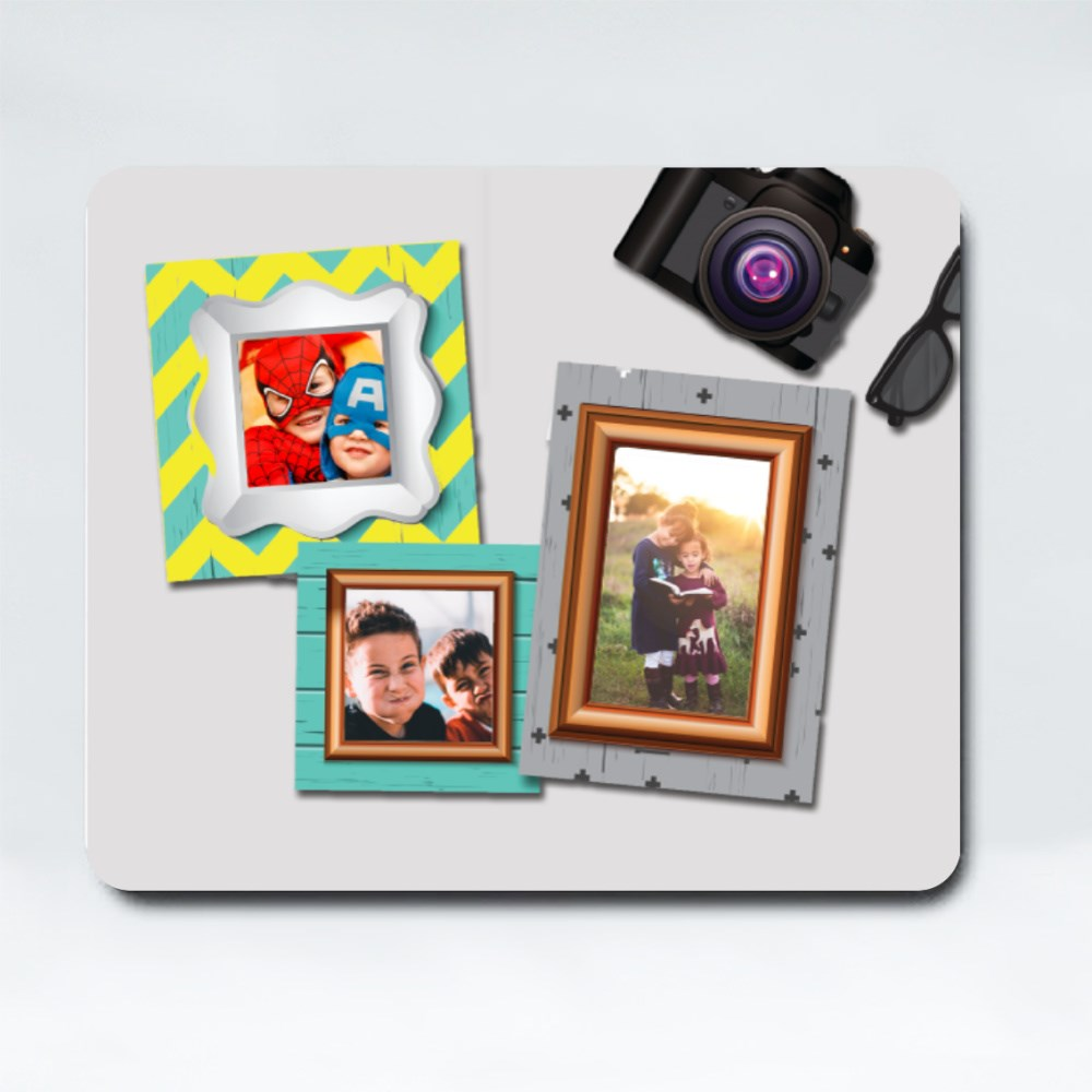 Mousepads > Mousepads (Rectangle) > Photo Frames With Camera