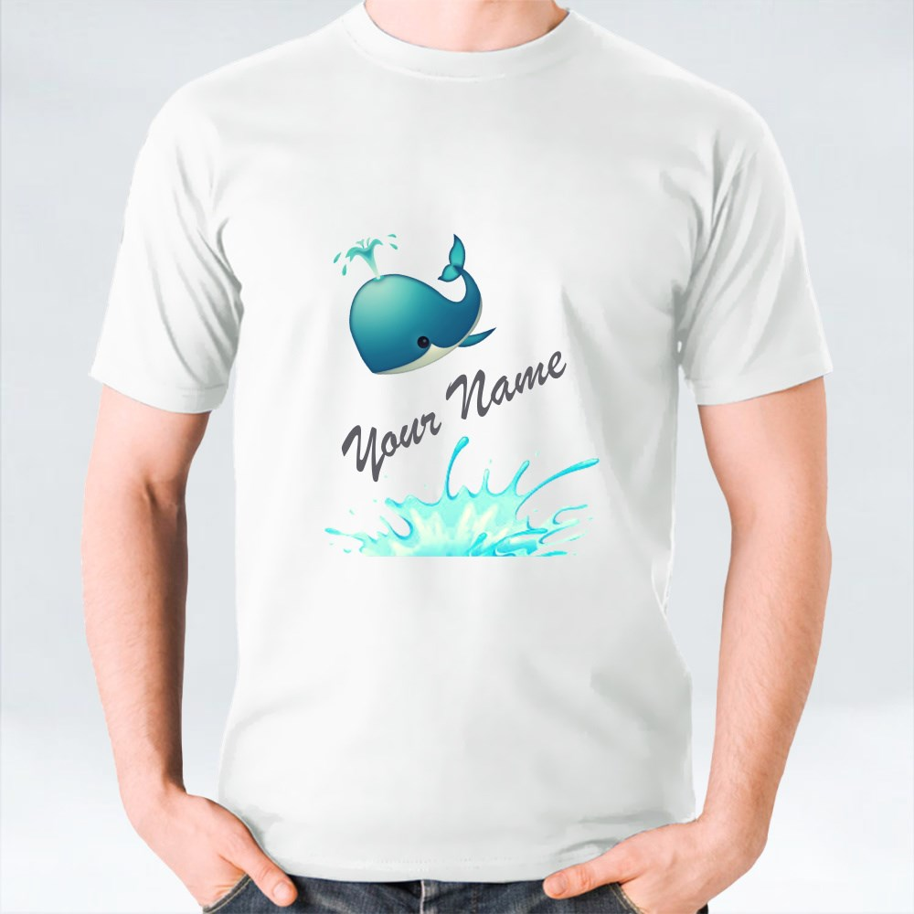 Your Name Whale Edition T-Shirts