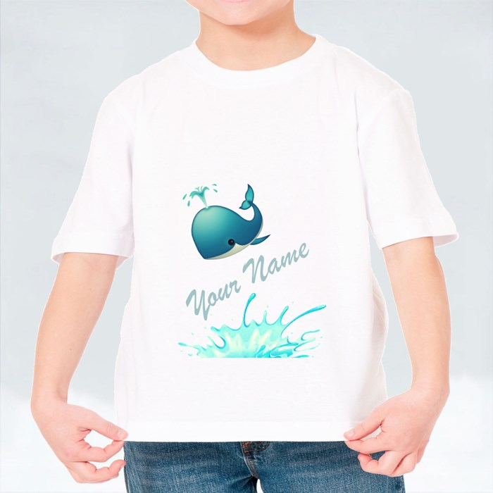 Your Name Whale Edition T-Shirts (Kid)