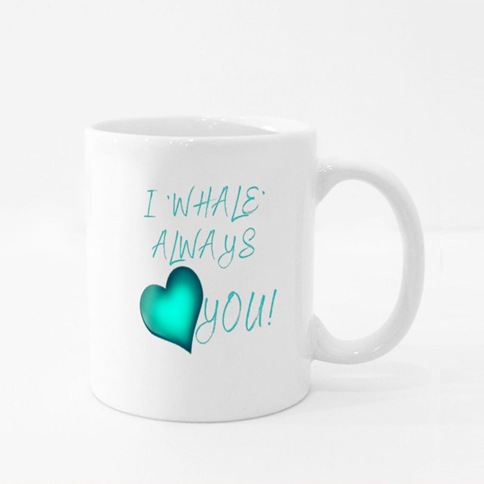 Your Name Whale Edition Colour Mugs
