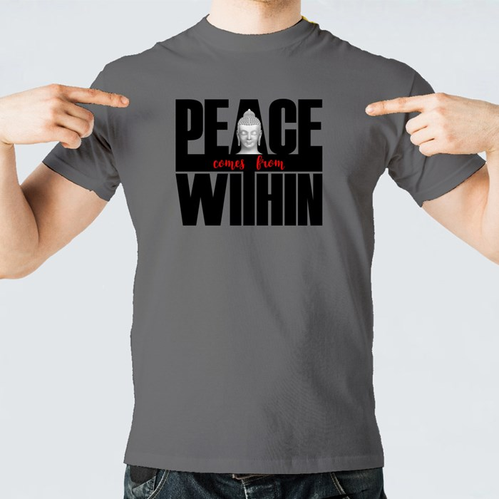 Peace Comes from Within T-Shirts