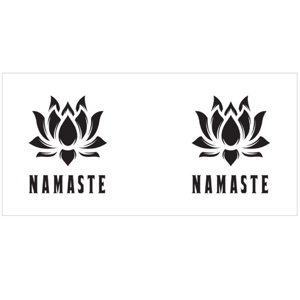 Namaste the Flower of Light Colour Mugs