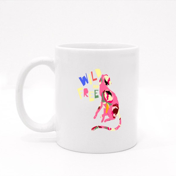 Being Wild and Free Colour Mugs