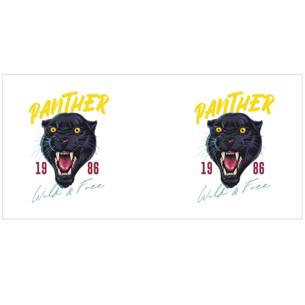 Panther Wild & Free Colour Mugs