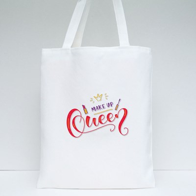 Make up Queen Tote Bags