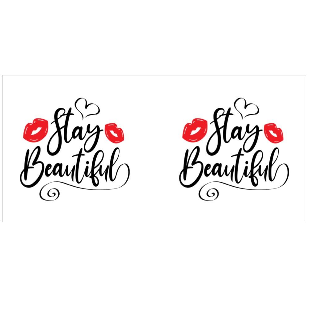 Stay Beautiful Colour Mugs