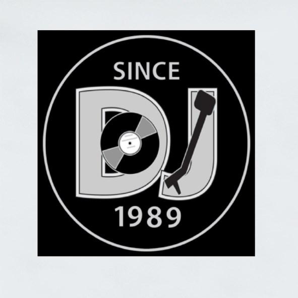 Dj Since 1989 Stickers (Square)