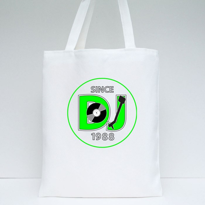 Dj Since 1988 Tote Bags