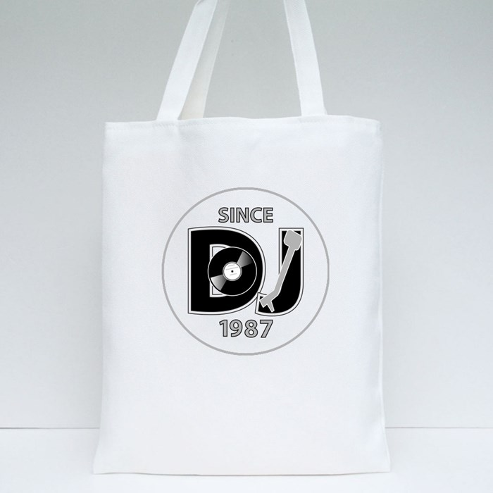 Dj Since 1987 Tote Bags