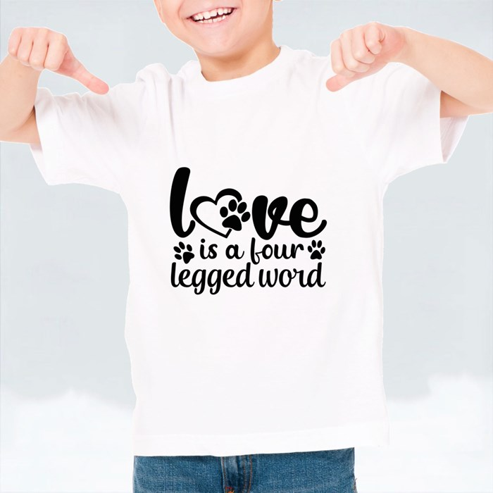Dog Quotes or Sayings for Dog Lovers T-Shirts (Kid)
