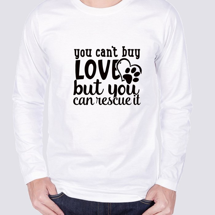 Dog Quotes or Sayings for Dog Lovers Long Sleeve T-Shirts