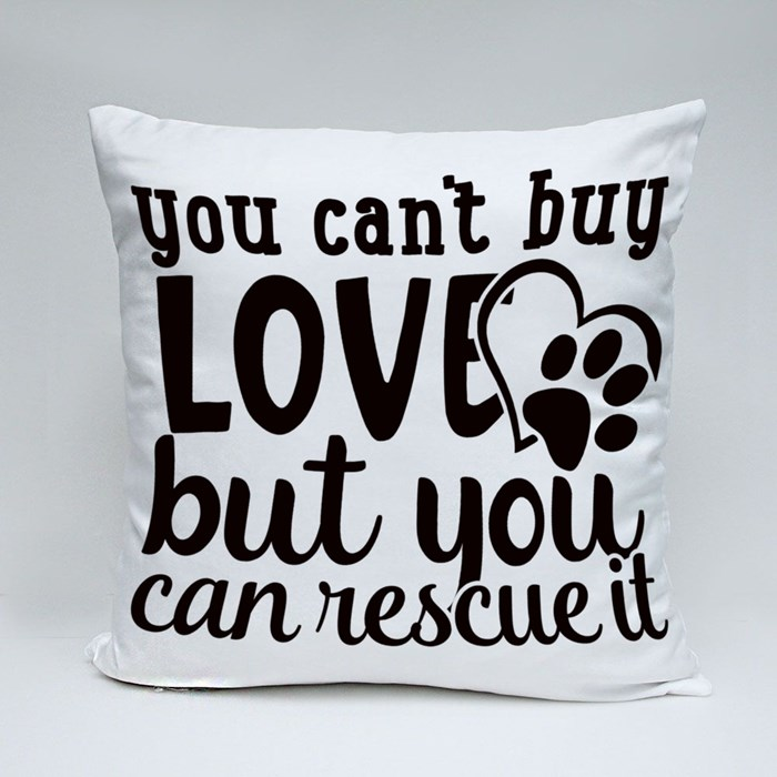 Dog Quotes or Sayings for Dog Lovers Throw Pillows