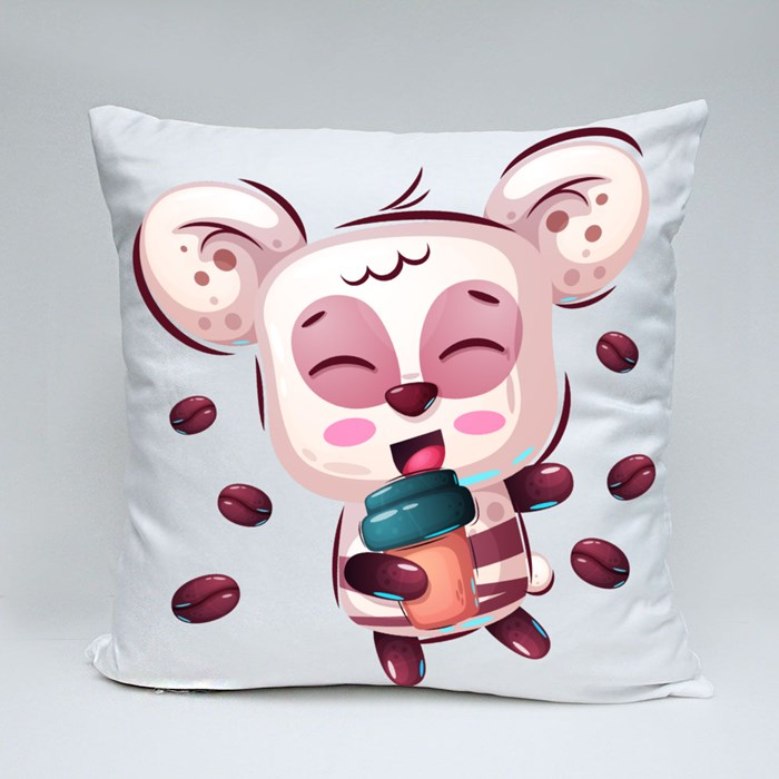 Cute Panda for Panda Lovers Throw Pillows