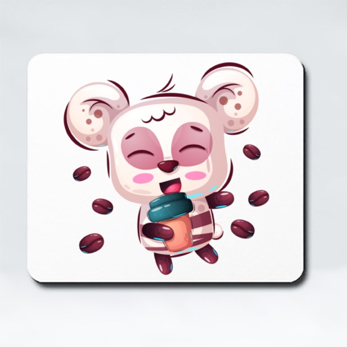 Cute Panda for Panda Lovers Mousepads (Rectangle)