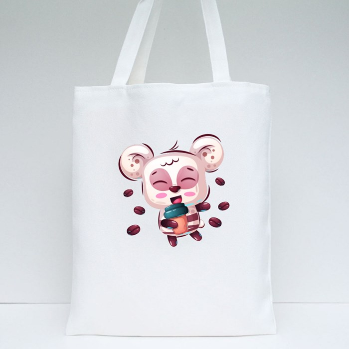 Cute Panda for Panda Lovers Tote Bags