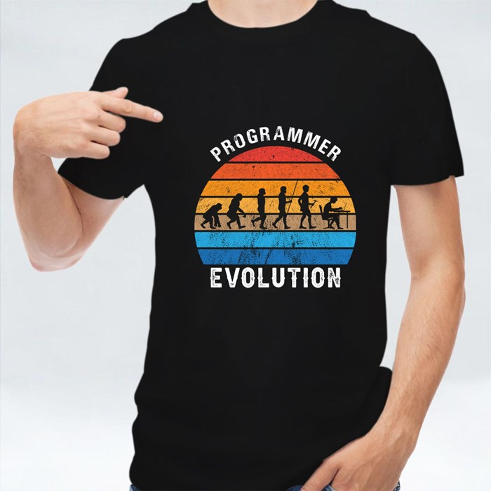 Programmer Evolution T-Shirts