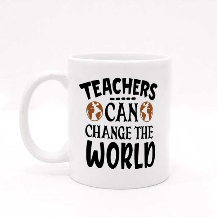 Teacher Sayings/Quotes | Gift for Teachers Colour Mugs
