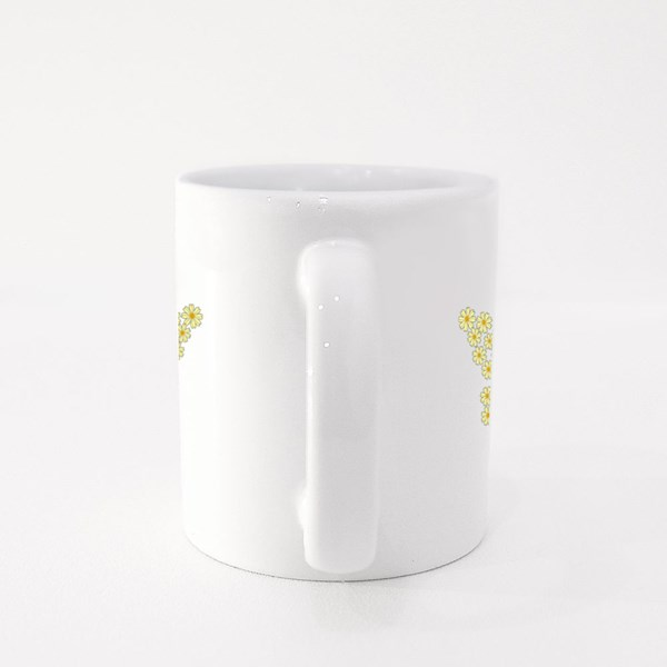 Butterfly Shaped in Daisys Colour Mugs
