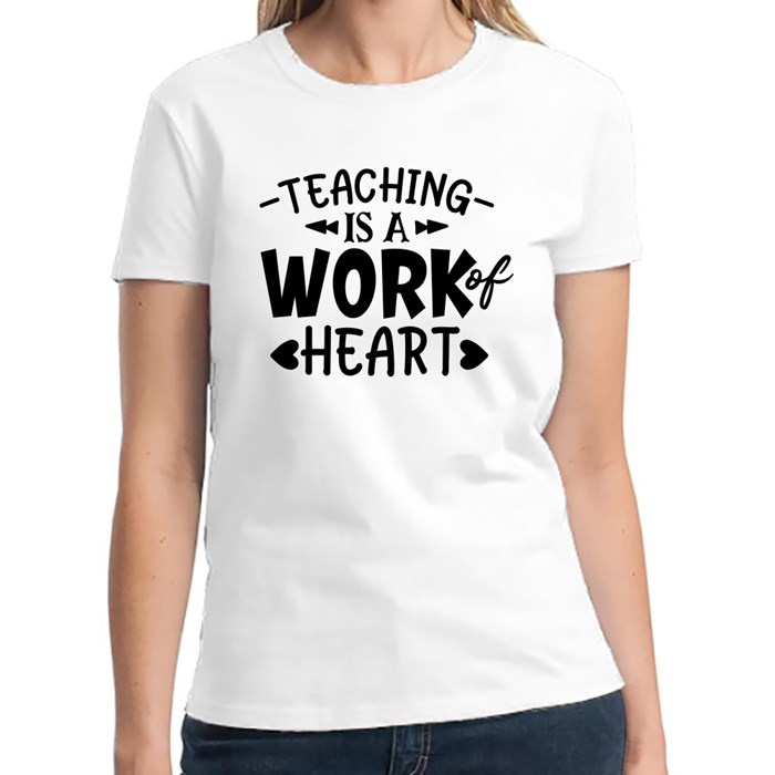 Teacher Sayings/Quotes | Gift for Teachers T-Shirts (Front & Back)