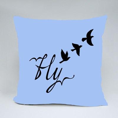 Birds Flying Free Throw Pillows