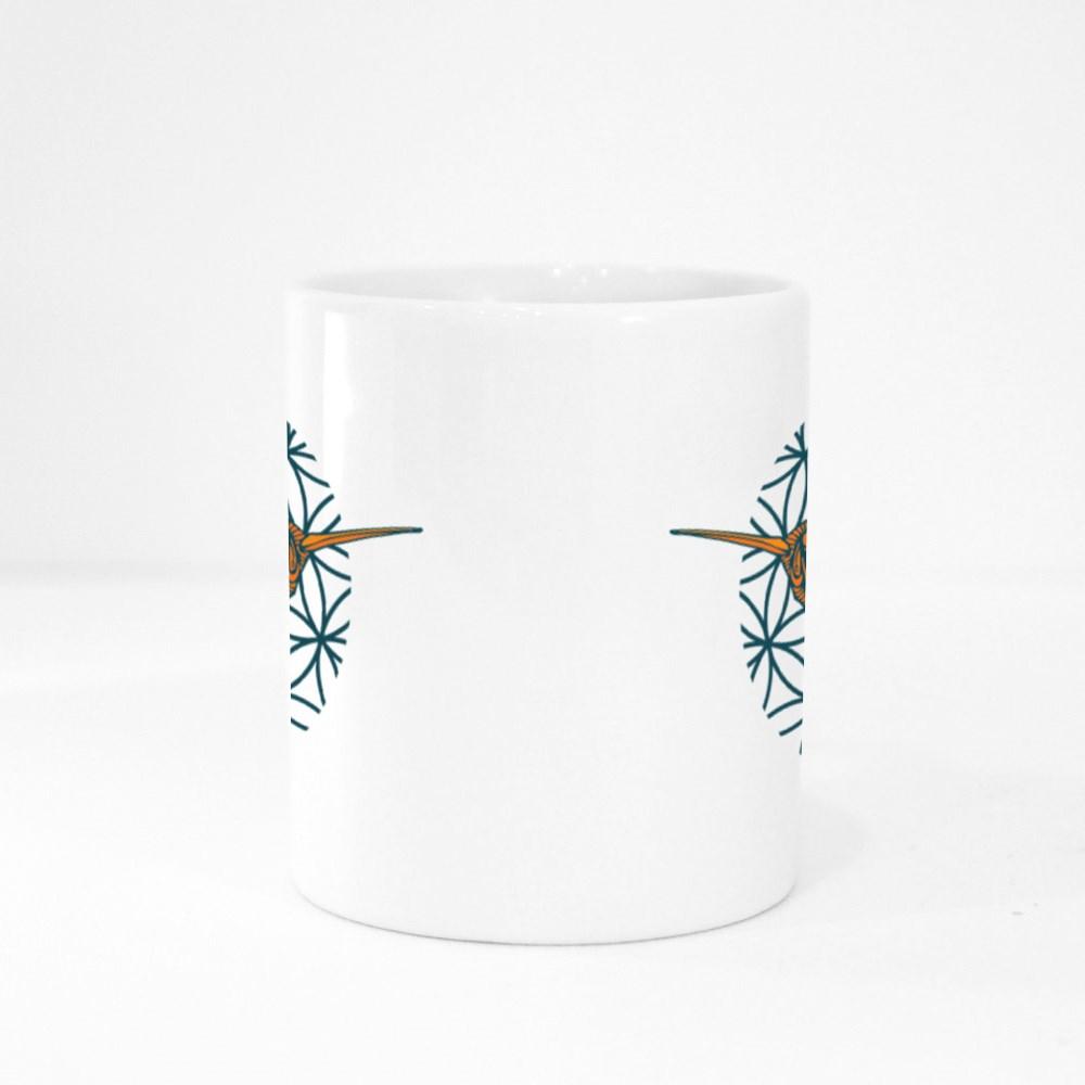 Zentagle Sacred Hummingbird Colour Mugs