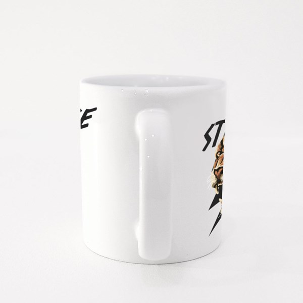 Thunder Strike Leopard Colour Mugs